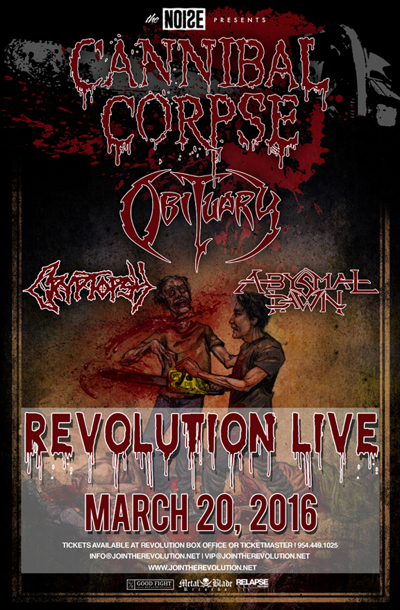 Cannibal Corpse Archives - Revolution Live