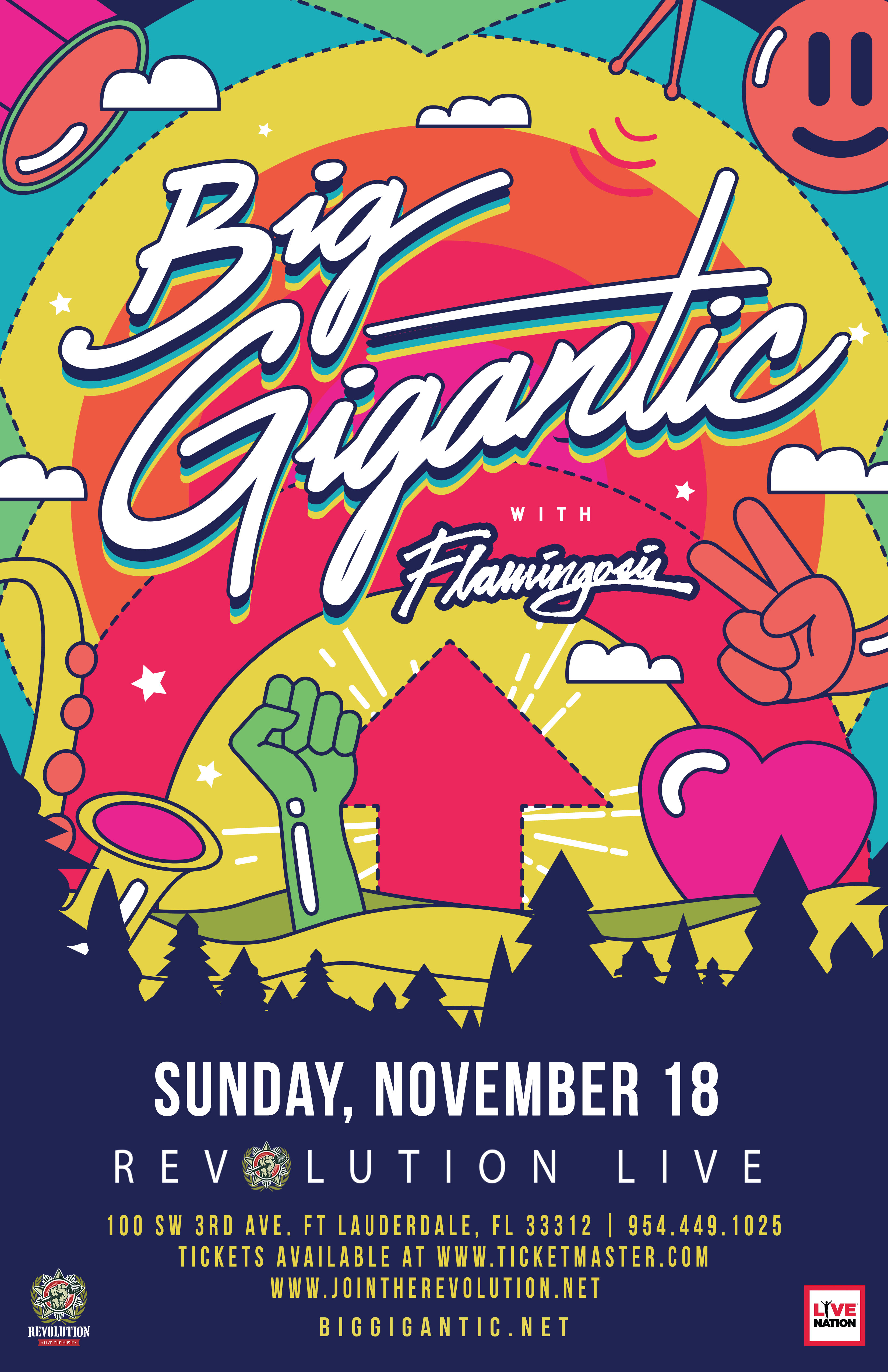 Big Gigantic Tour 2020 Big Gigantic   Revolution Live