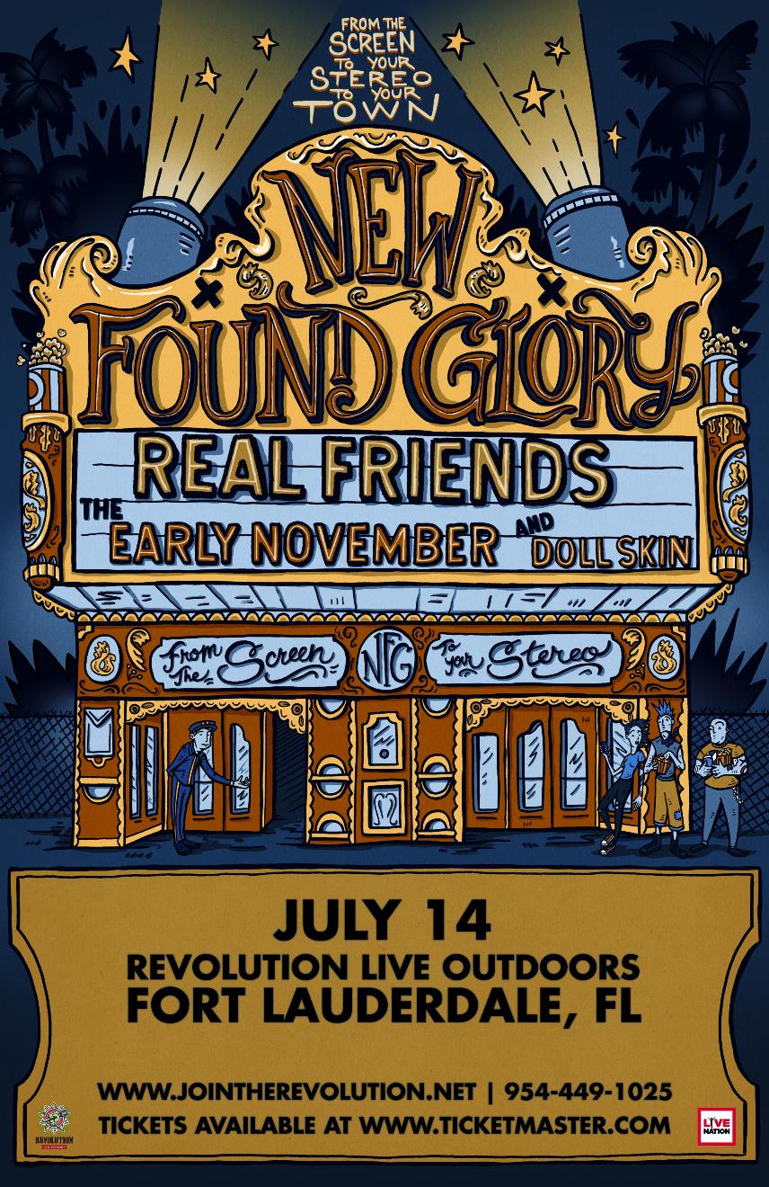 New Found Glory Tour 2020 New Found Glory   Revolution Live