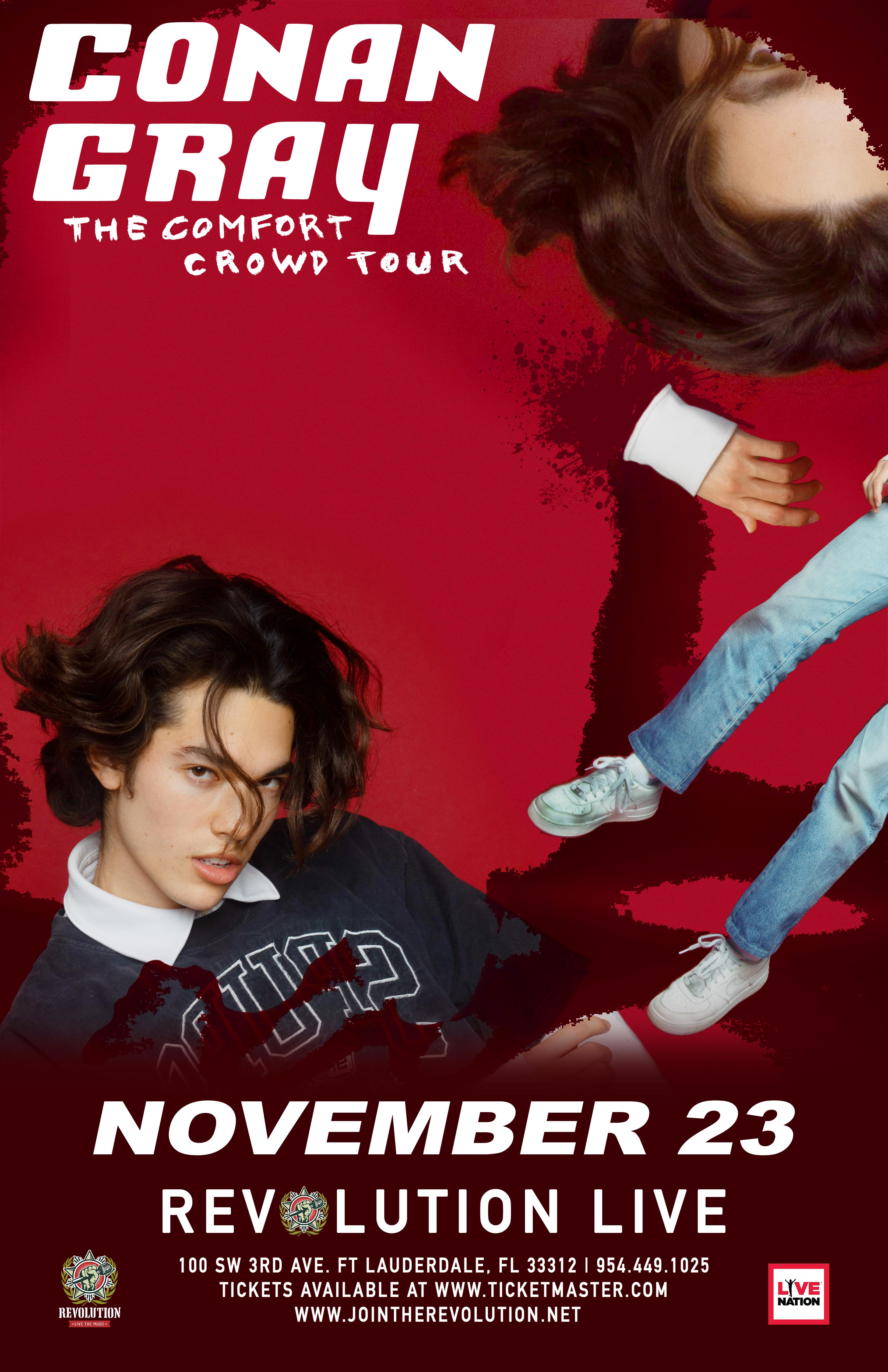 Conan Gray - The Comfort Crowd Tour