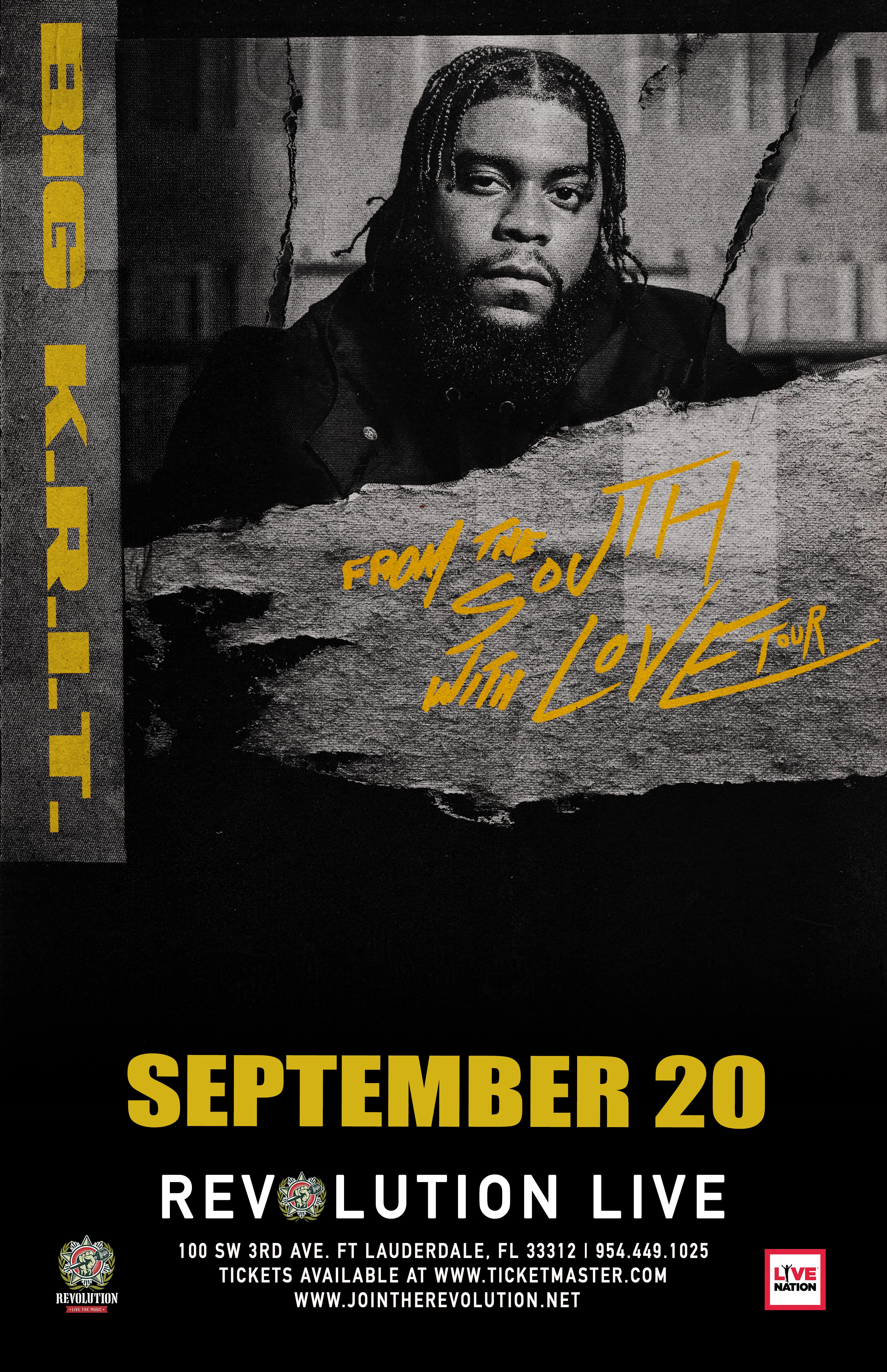 BIG K.R.I.T. 11x17 poster