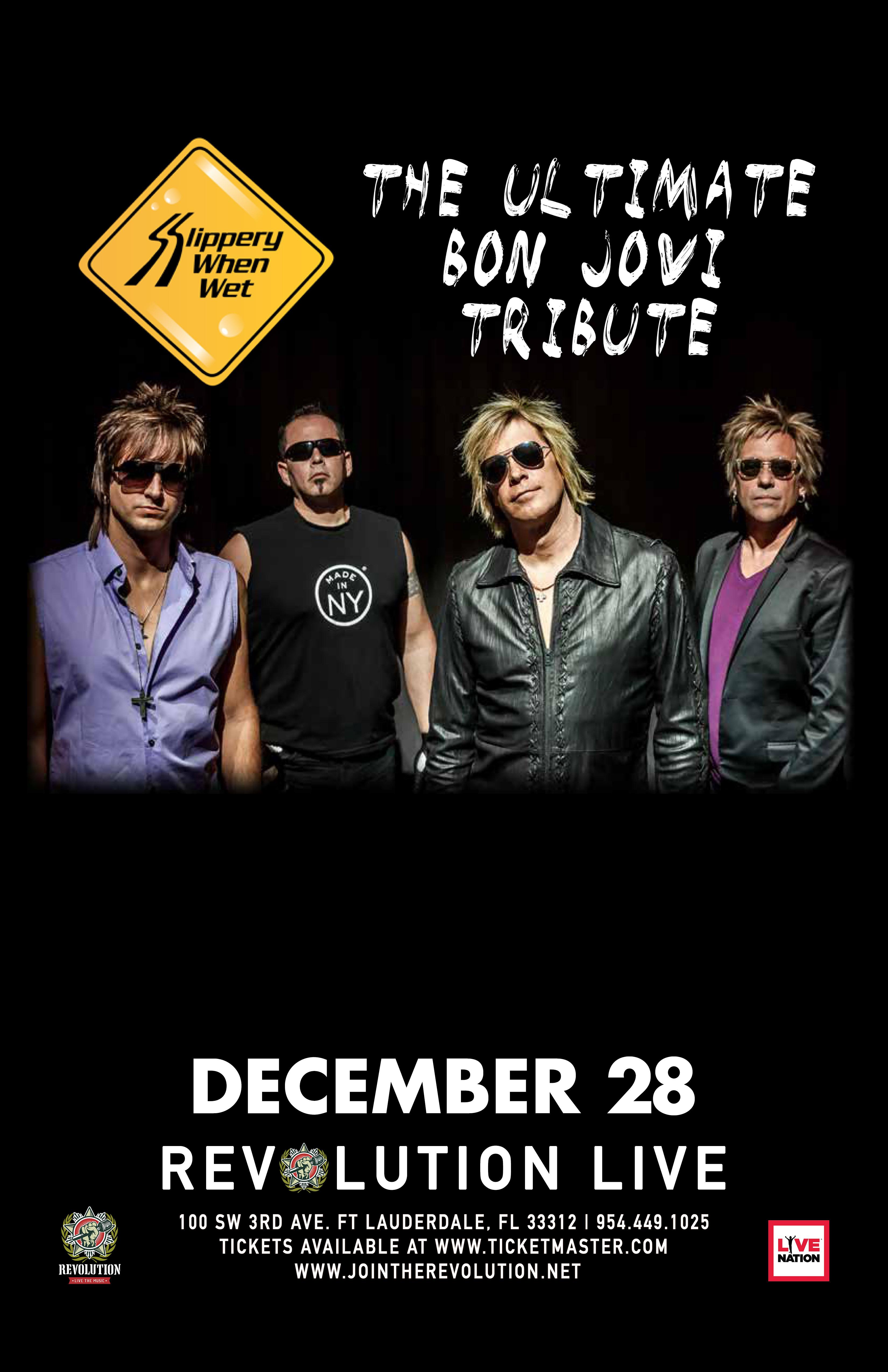 Slippery When Wet - Bon Jovi Tribute