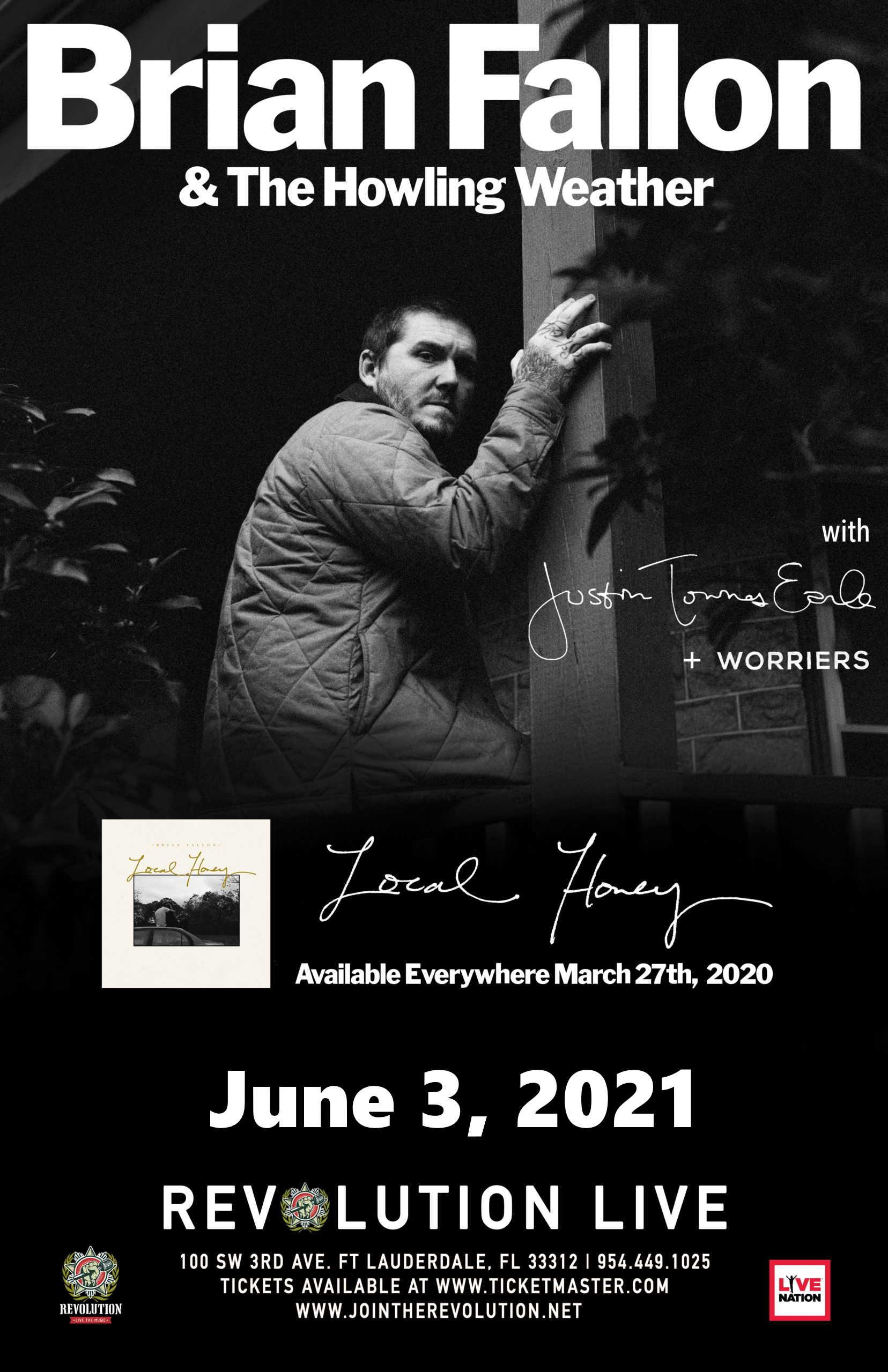 Brian Fallon poster