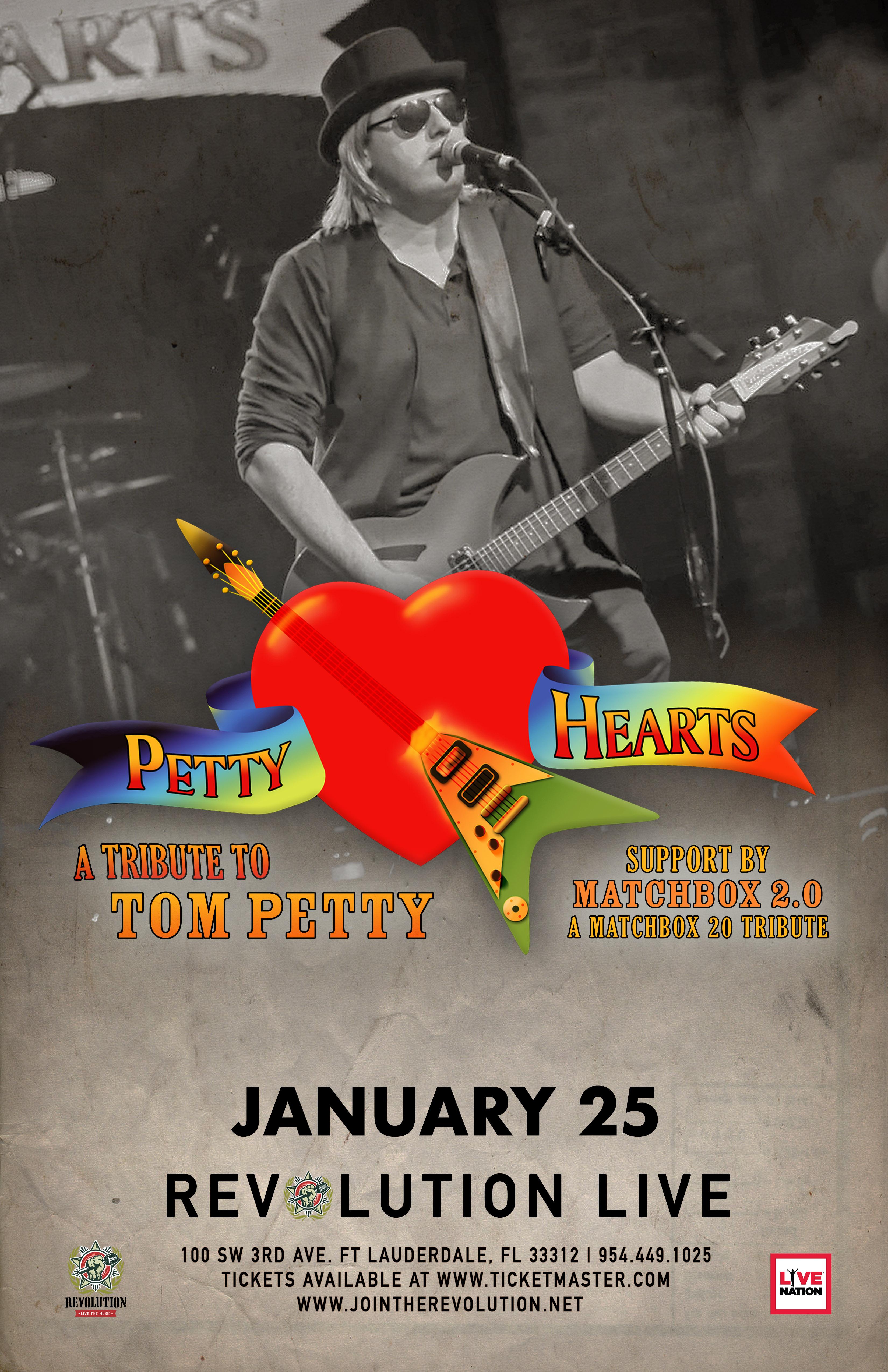 Petty Hearts - Tribute to Tom Petty