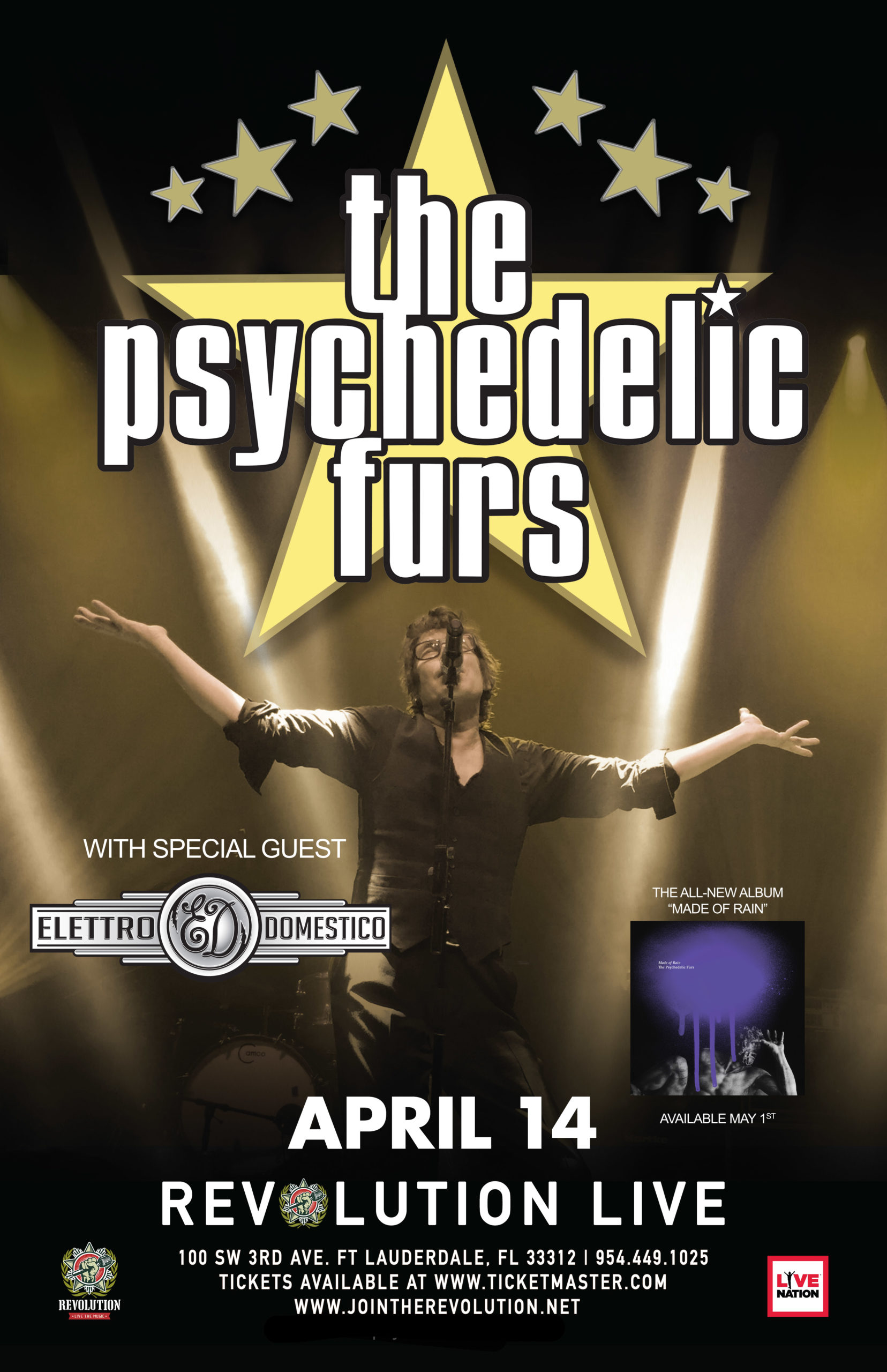 The Psychedelic Furs - CANCELLED
