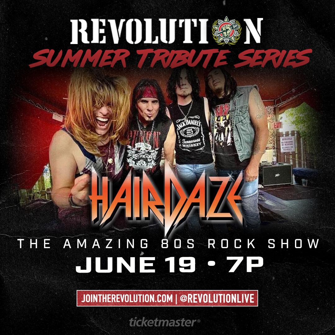 "Hairdaze ""The Amazing Rock Show"""