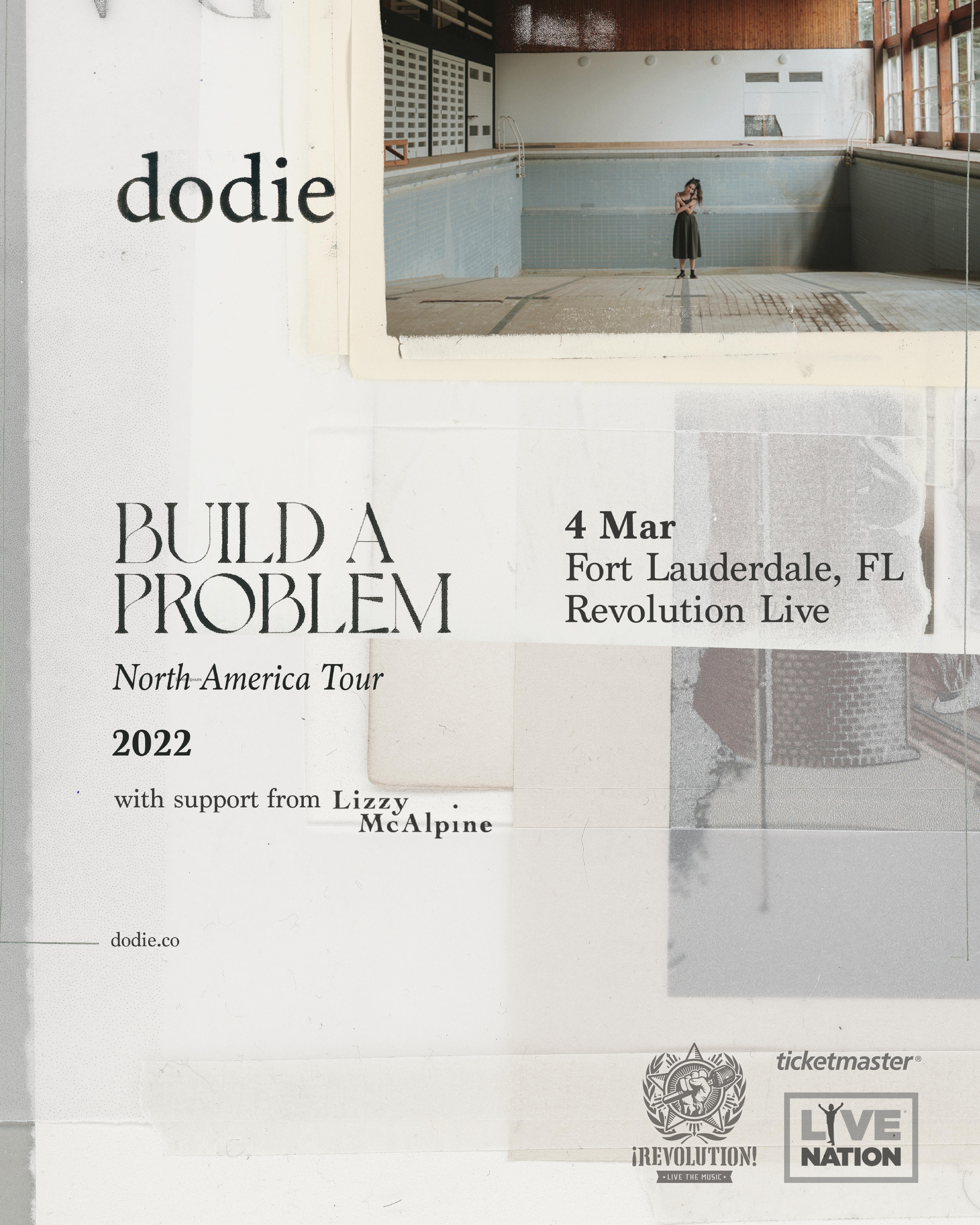 """Dodie """"Build a Problem Tour"""""""