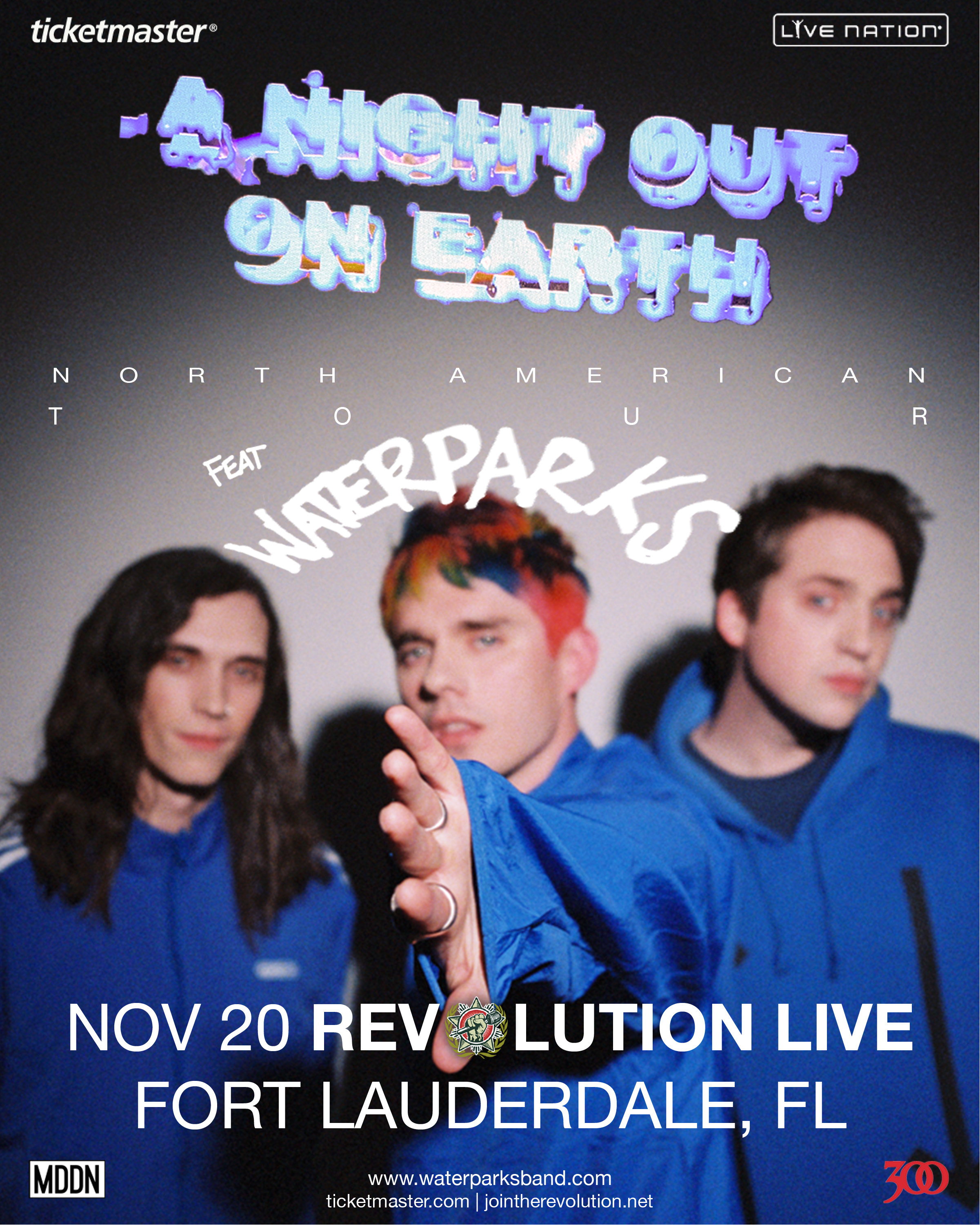 Waterparks: A Night on Earth Tour